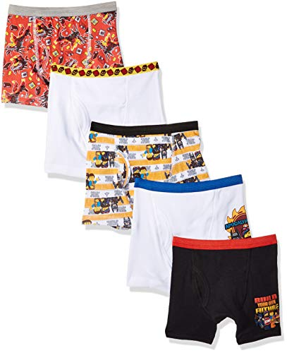 LEGO Boys Movie 2 5-Pack Breifs Or Boxer Briefs