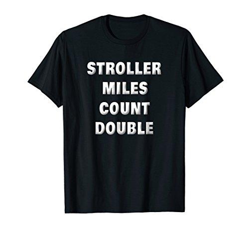 Running Dad Shirt Funny Stroller Dad Runner Gifts