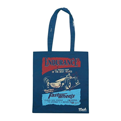 Borsa ENDURANCE FAST WHEELS - Blu navy - FAMOSI by Mush Dress Your Style