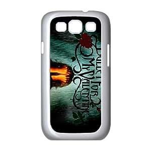 Bullet For My Valentine funda Samsung Galaxy S3 9300 caja funda del teléfono celular del teléfono celular blanco cubierta de la caja funda EEECBCAAL10562