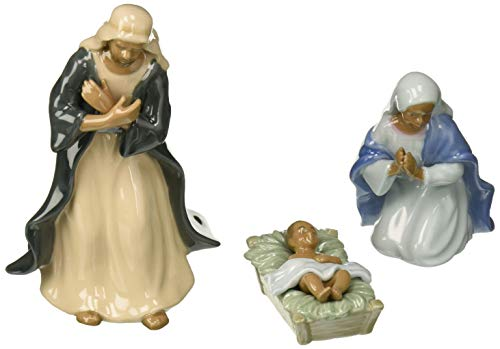 Cosmos Gifts 56324 3-Piece African American Nativity Figurine, 7-Inch]()