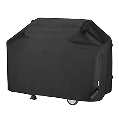 UNICOOK Heavy Duty Waterproof Barbecue Gas Grill Cover, 75-inch XX-Large BBQ Cover, Special Fade and UV Resistant, Durable and Convenient, Fits Grills of Weber Char-Broil Nexgrill Brinkmann and More