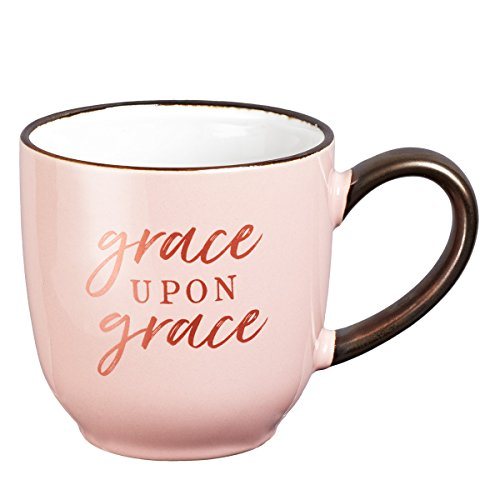 (Grace Upon Grace John 1:16 Coffee Mug, Grace Upon Grace Collection)