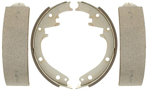 ACDelco 14473B Advantage Bonded Rear Brake Shoe Set
