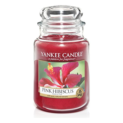 Yankee Candle Large Jar Candle, Pink Hibiscus