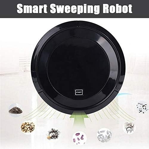 anruo Aspirateur Intelligent Multifonctionnel Robot Balai vadrouille Nettoyeur de Tapis de Sol Charge Automatique