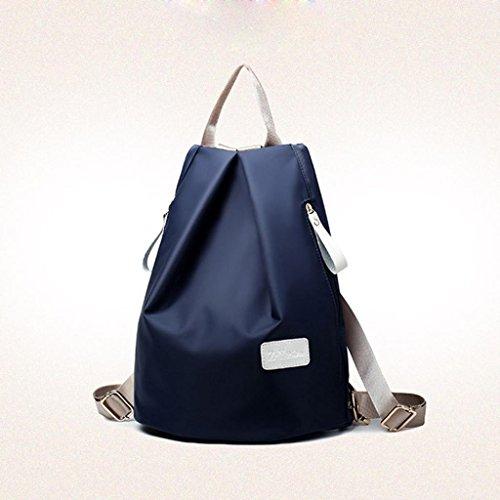 negro bolso bandolera 3 Moda Malloom monedero set pcs mujer mochila azul q4XqgYz