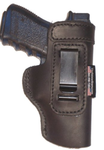 Ruger SR22 Light Weight Black Right Hand Inside The Waistband Concealed Carry Gun Holster by The Holster Store
