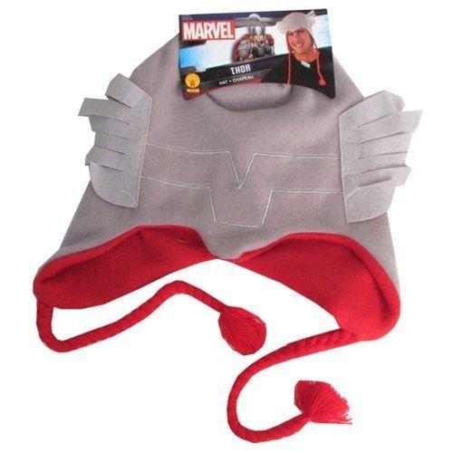 Rubie's Marvel Men's Universe Adult Thor Fleece Hat,