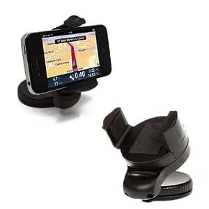Sleek Gadgets–360grados rotación de Full en soporte con ventosa de coche para Nokia Luna 8600