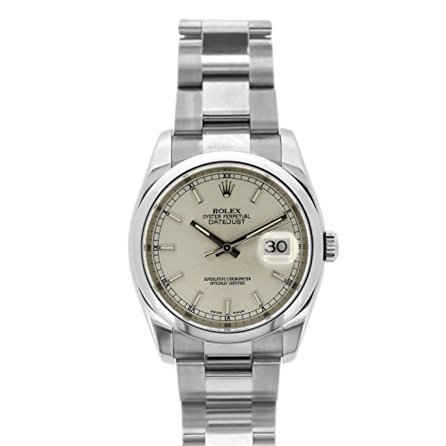 Rolex Datejust swiss-automatic mens Watch 116200 (Certified Pre-owned) by Rolex (Image #4)
