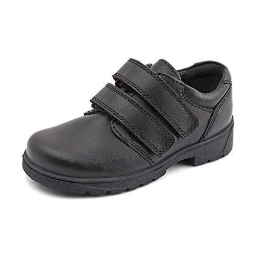 Start-rite , Jungen Loaferschuhe Schwarz schwarzes Leder S8½
