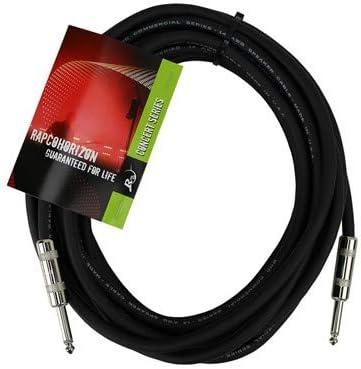 """RapcoHorizon H14-50 50FT 14 Gauge 1//4/""""M to 1//4/""""M Speaker Cable"""