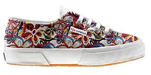 Superga scarpe personalizzate con Floreal Abstract (Prodotto Artigianale)