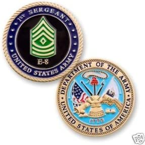 US ARMY RANK SERGEANT COIN