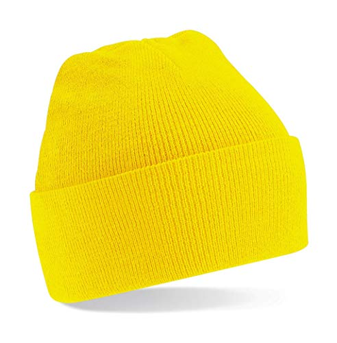 B45 Yellow Original One Gorro Beechfield doblado Size zqTTS
