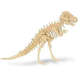 Esqueleto de dinosaurio rompecabezas de madera Diplodocus