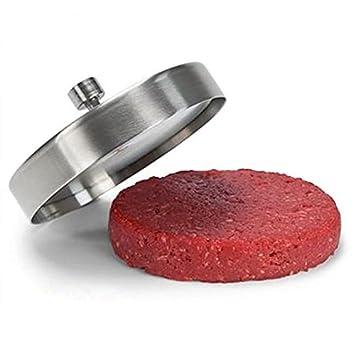 Molde para hacer hamburguesas caseras,hamburguesa prensa,burger prensa Acero inoxidable,ideal para cocinar: Amazon.es: Hogar