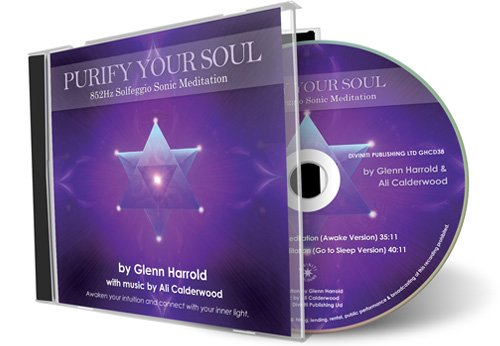 852Hz Solfeggio Meditation - Awaken Your Intuition (Purify Your Soul)