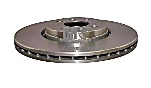 Amazon.com: JP GROUP Brake Disc Front Axle 300 mm Fits RENAULT Grand Scenic II 7701207897: Automotive
