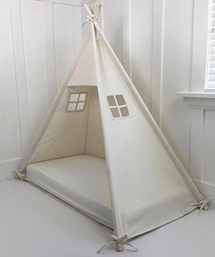 Domestic Objects Handmade Cotton Play Tent Canopy. Great for Toddler Transition to Big Bed - Crib No Doors 4