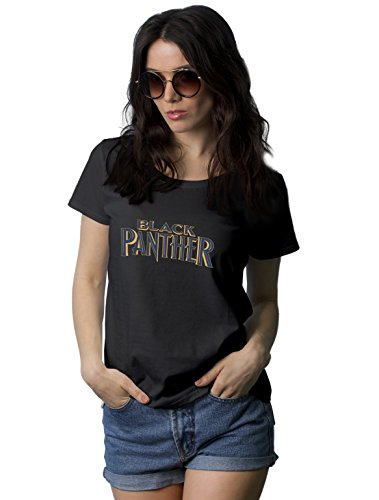 Womens-Black-Panther-T-Shirt-Superhero-Merchandise-Tee-For-Girls