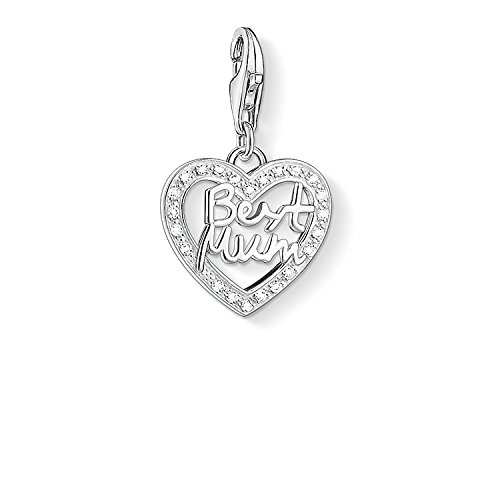 Thomas Sabo Best Mum Charm, Sterling Silver (Thomas Jewellery Sabo)