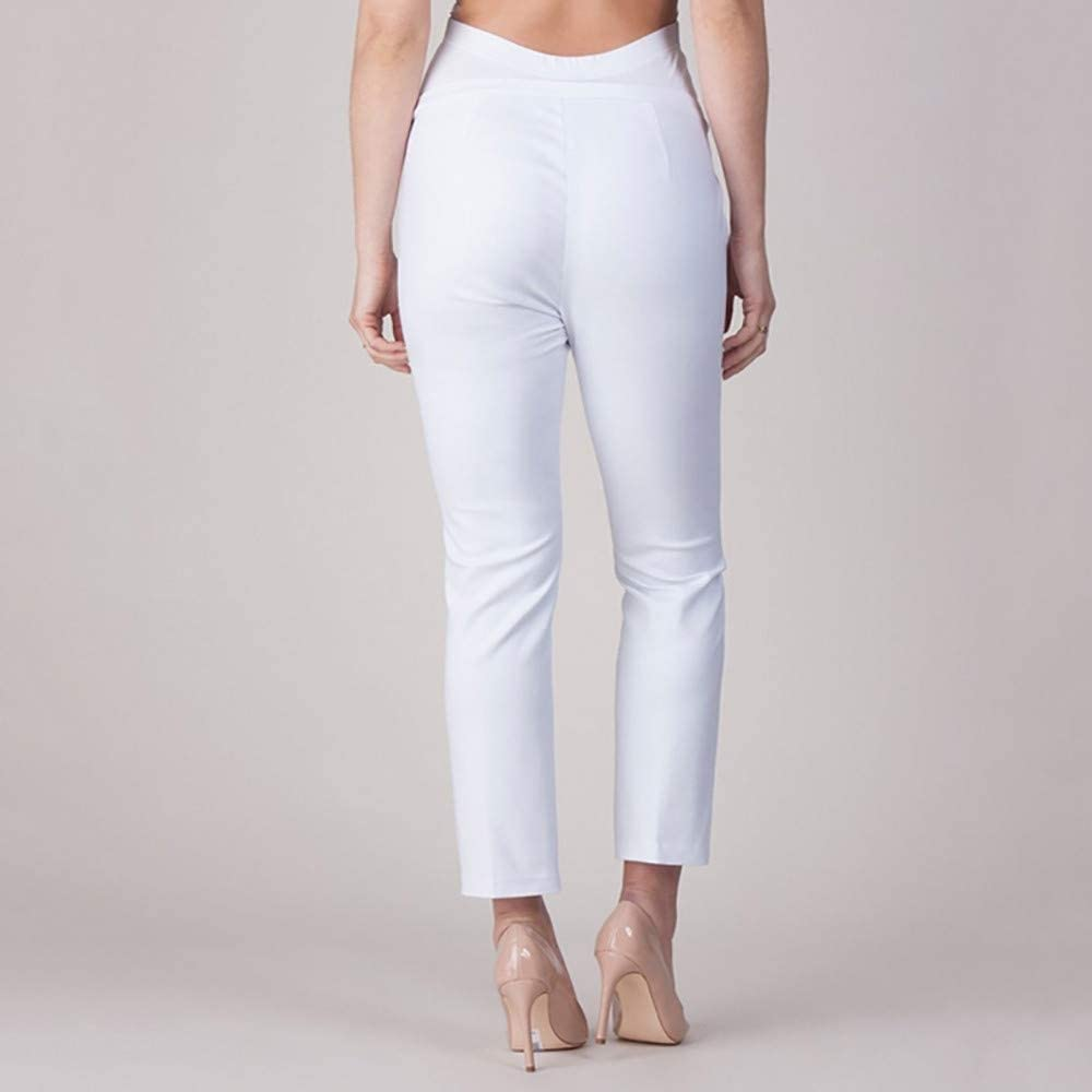 Harpily Elastic Belly Protection Maternity Pregnant Leggings Pants Solid Color Trousers Pencil Pants