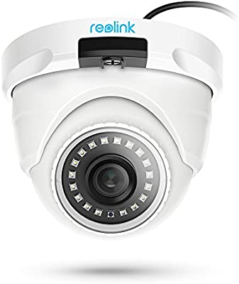 Reolink PoE Add-on Camera 4MP Outdoor Video Surveillance Home Security IR  Night Vision, ONLY Work with Reolink POE Camera System and NVR, Onvif