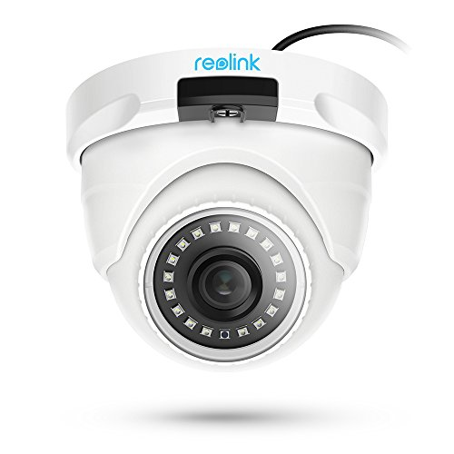 Reolink PoE IP Camera Outdoor 5MP Video Surveillance Night Vision Home Security with SD Card Slot RLC-420-5MP (Best Ip Poe Security Camera)