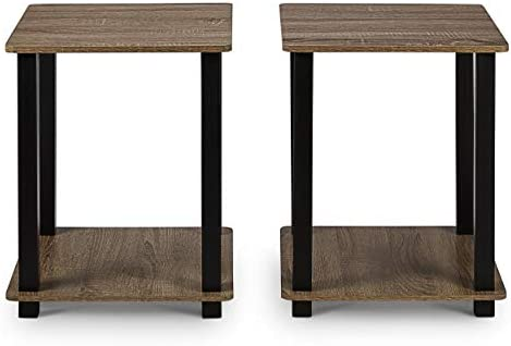 Civet Home End, Side Table, French Oak Grey