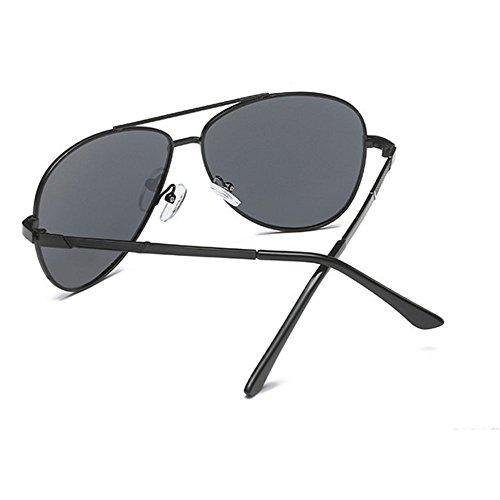 D'affaires Soleil gray Lunettes Hommes Lunettes UV Décoration De Mode Protection soleil 100 Personnalité Conduite Polarisée de AZR6Y