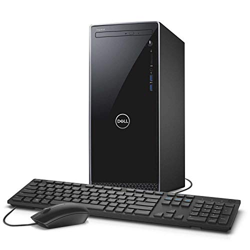 2019 Dell Inspiron High Performance Desktop Computer, 8th Gen Intel Hexa-Core i5-8400 up to 4.0GHz, 16GB DDR4 RAM, 1TB 7200RPM HDD + 256GB SSD, DVDRW, WiFi, Bluetooth, USB 3.1, HDMI, Windows 10 Home
