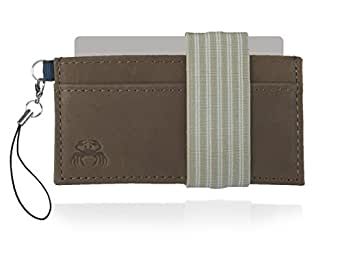Crabby Wallet - Thin Minimalist Front Pocket Wallet - L3 Leather Wallet