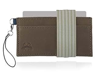 Crabby Wallet - Minimalist Wallet - Super Slim Men's Wallet - L3 Leather Wallet
