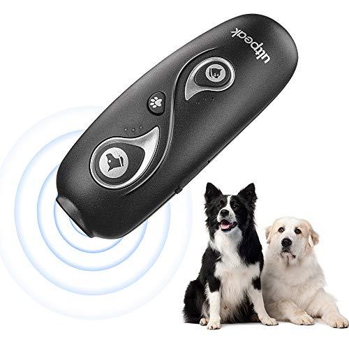 ulpeak Dog Barking Control Device, Sonic Dog Bark Control, USB Rechargeable Sonic Bark Deterrents Bark Controller Indoor…
