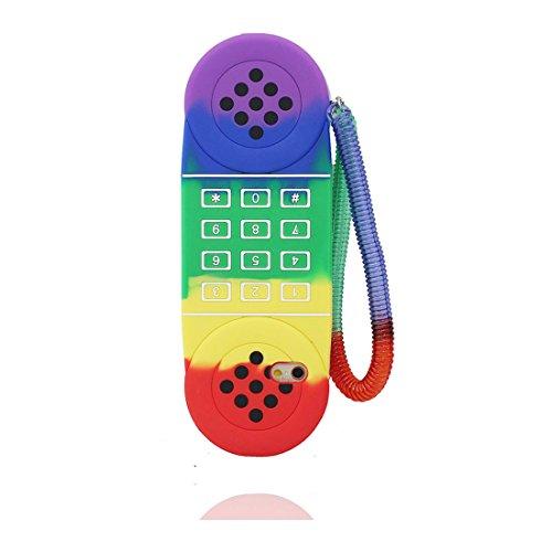 """Coque iPhone 6, iPhone 6s Étui (4.7""""), [ TPU Material Flexible ] iPhone 6 case (4.7""""), Dust Scratch Resistant, 3D téléphone souple et ring Support de téléphone"""