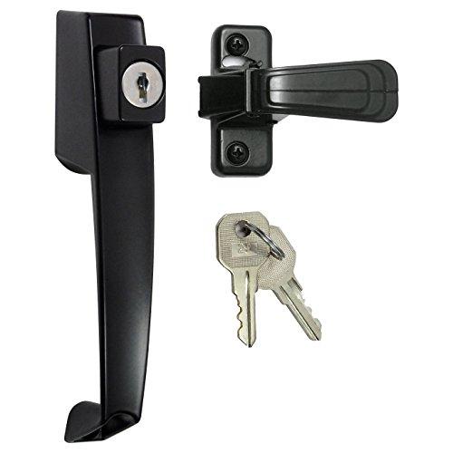 ideal security storm door handle - 9