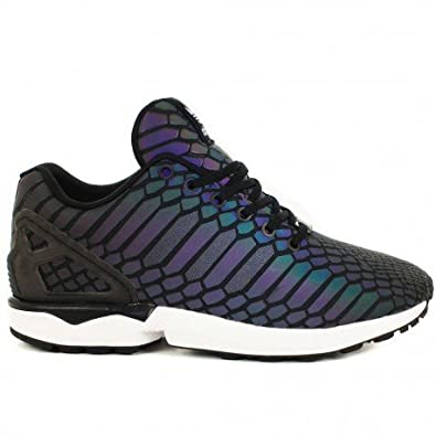 daec7ec74b2 adidas ZX Flux Xeno Reflective Core Black (Multicolour B24441) UK Size 7   Amazon.co.uk  Shoes   Bags