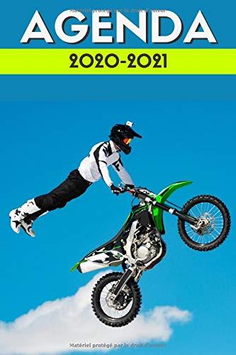 agenda moto cross 2020 2021: agenda scolaire 2020 2021 moto