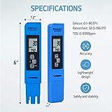 VIVOSUN pH and TDS Meter Combo, 0.05ph High