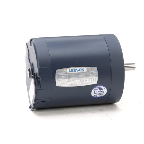 Leeson Electric 110144.00 - General Purpose Motor - 3 ph, 1/2 hp, 3600 rpm, 208-230/460 V, 56C Frame, Totally Enclosed Non Ventilated Enclosure, 60 Hz, Round Mount ()