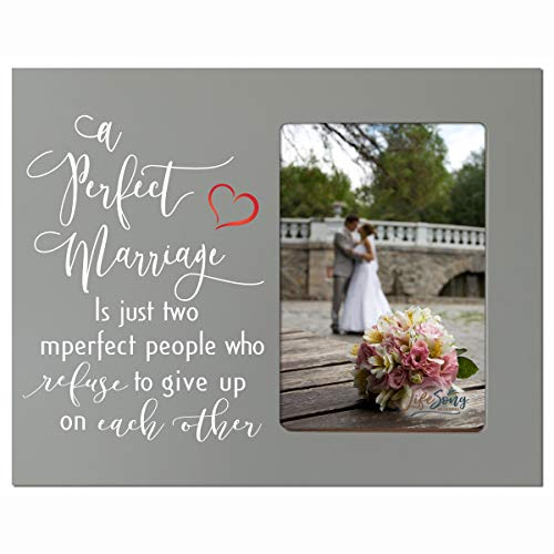 LifeSong Milestones A Perfect Marriage Wedding Anniversary Wooden 8