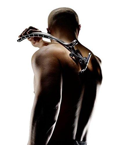 Ceramics Eazy-Raze - Maquinilla de afeitar para espalda, color negro