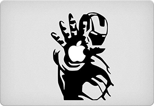 Greatest Popular Prime Iron Man Decal Laptop Stickers for Macbook Pro Air Mac 13
