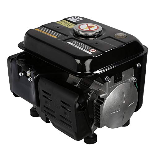 dowantwaps 1200W Gasoline Electric Generator,Gas Powered Portable Generator for Home Camping Emergency by dowantwaps (Image #3)