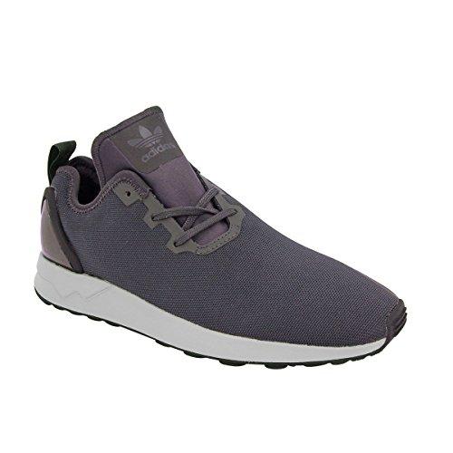 adidas Originals ZX FLUX ADV ASYMMETRICAL Men Sneakers Shoes Black S80320 F4r2L7