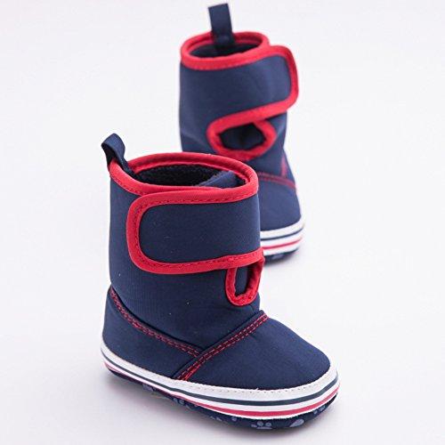 leap frog  Eskimo Snow Boots, Baby Jungen Krabbelschuhe & Puschen Dunkelblau