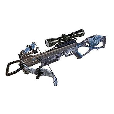 Excalibur Micro Raid 335 Kryptek Camo Crossbow Package with Upgraded Twilight DLX Scope