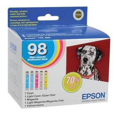 EPSON T098920 COLR MULTI INK CARTRIDGE HIGH-CAPACITY